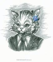 """Bluetooths Mean Buisness"" by telegrafixs"