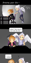 Drawing your imaginary friends / Ocs... by TheGirlWhoLivesHere