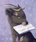 1000 Watchers THANK YOU by LuckyPaw