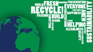 Sustainability Wallpaper - WordArt by Medessec