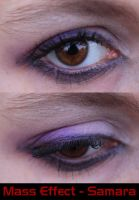 Samara Eye Make-Up by LadySiha
