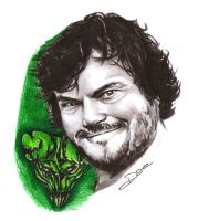 Jack Black by dottcrudele