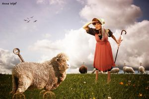 Shepherdess by annewipf