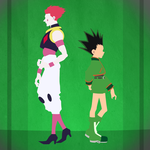 Hisoka and Gon by steamrider5