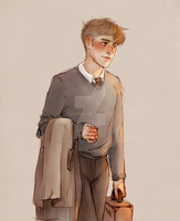 Professor Lupin by Natello