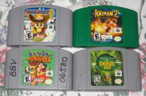 Aileen's N64 games by T95Master