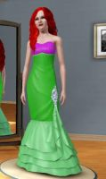 Ariel from The Little Mermaid -  Sims 3 by bubble0flame