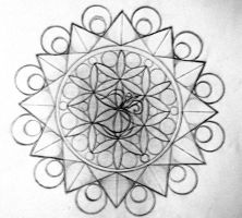 Ohm Mandala by Mendicant-B1as
