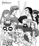 Fan Art: Tribute to Rumiko Takahashi by QueDog