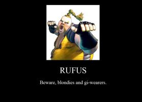 Rufus Demotivational Poster by JasonPictures