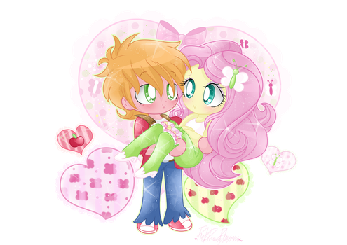 .:That Quiet, Shy Love:. by PinkPrincessBlossom
