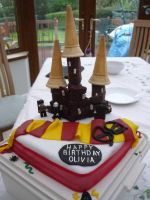 Harry Potter Cake by TaurusDancer