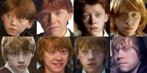 Ron Through The Years by Cjrowland