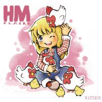 Harvest Moon-Claire by Watteri91