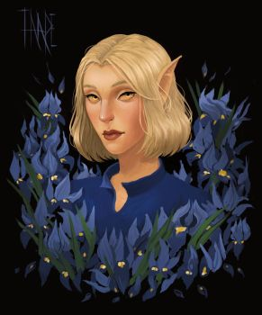 the altmer named Taare by ulmuri