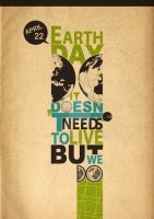 Earth DAY 22 April by typoholics
