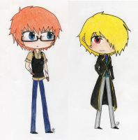 Kingdom Days Sim Date Chibis by obsessionxalways