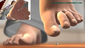 Giantess Erodreams2 - Preview - Just Business II by ilayhu2