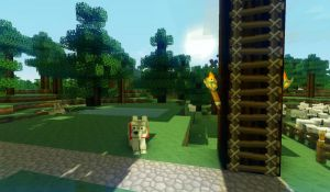 Minecraft with shadows by JanniFTW