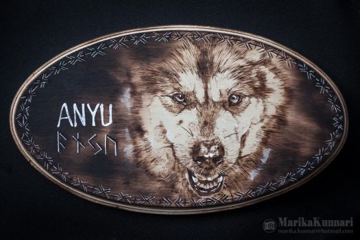 Pyrography - Anyu by Marzzunny