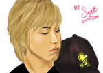 [Fanart] Sungmin with Cap by LaskmiSims