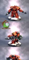 Blood Angels Centurion Devastator by HomeOfCadaver