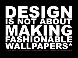 Design is not... by MenosKeTiago