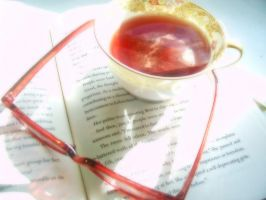 A Cup of Tea and A Good Book by meljoy68