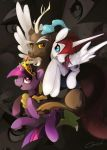 Twilight, Discord and Lauren F. by Cenit-v