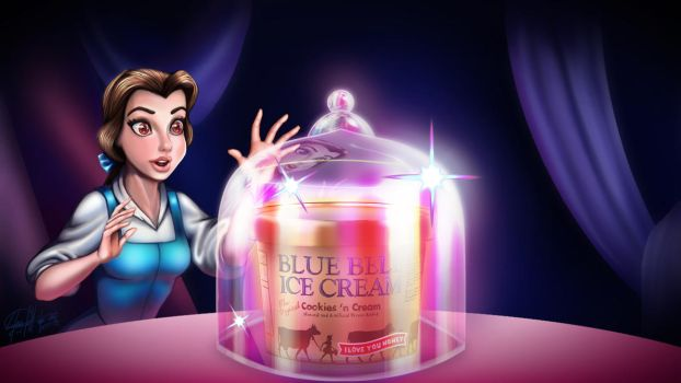 Belle discovers Blue Bell by GeneralSoundwave