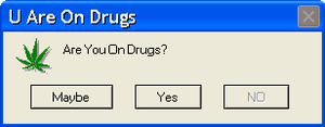 U Are On Drugs by Xiaolin101