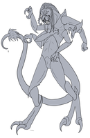 Alien Concept by lover-of-the-Drow