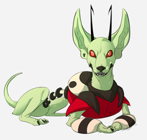 Angry Alien Chihuahua by Rodent-blood