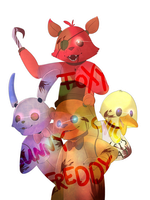 Five Nights At Freddys by 1Day4Dreams