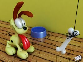 Look Out Odie... by Marty--McFly