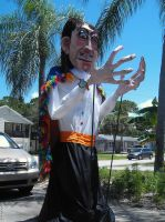 SALVADOR DALI GIANT PUPPET by RealNsurreal
