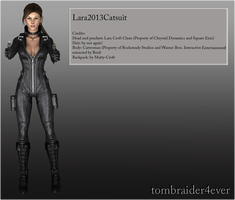 Lara2013Catsuit, Release by tombraider4ever