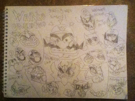 Wario Greedfood Chart by WarioWules09