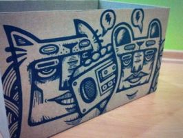 Boom Box 01 by GalactikCaptain