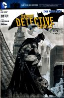 Detective Comics 20 Sketch Cover by giberwitz