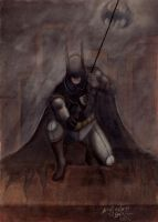 Batman action by aleldan
