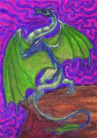 Wyvern Vina ATC by SpiderMilkshake