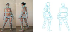 Character Design: BUILDING THE FIGURE by myah830