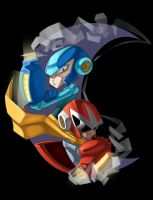 Megaman by Pertheseus