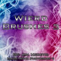 Wierd Brushes 3 by JimHeretic
