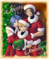 KH BBS: Merry Christmas by AealZX
