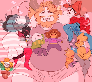 sleepover at asgore's by dongoverlord