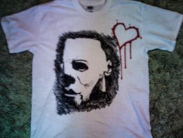 Michael Myers tee by scruffyruffIes