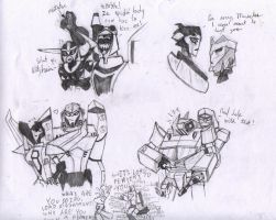 Sketches for JetfireWeasley5 by Redrosesforever