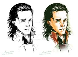 M : Avengers : Loki [with line art] by noei1984